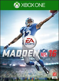 Madden NFL 16 (Xbox One) by Electronic Arts Box Art