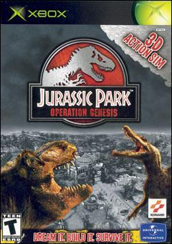Jurassic Park: Operation Genesis (Xbox) by Vivendi Universal Games Box Art