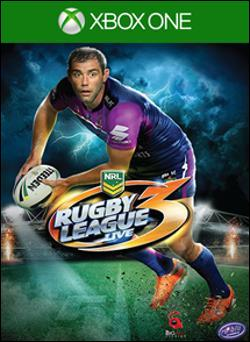 Rugby League Live 3 (Xbox One) by Microsoft Box Art
