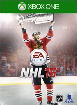 NHL 16 (Xbox One) by Electronic Arts Box Art