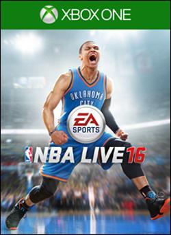 NBA Live 16 (Xbox One) by Electronic Arts Box Art