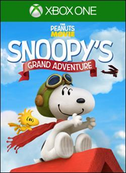 The Peanuts Movie: Snoopy's Grand Adventure (Xbox One) by Activision Box Art
