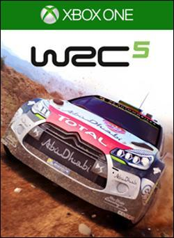 WRC 5 (Xbox One) by Microsoft Box Art
