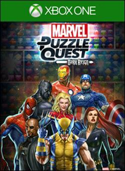 Marvel Puzzle Quest: Dark Reign (Xbox One) by D3 Publisher Box Art