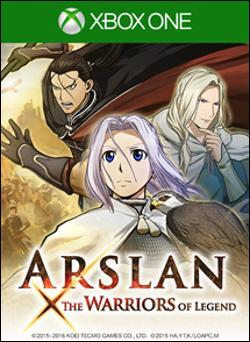 Arslan: The Warriors of Legend (Xbox One) by KOEI Corporation Box Art