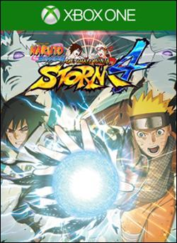 Naruto Shippuden: Ultimate Ninja Storm 4 (Xbox One) by Ban Dai Box Art