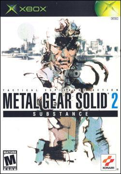 Metal Gear Solid 2: Substance Box art