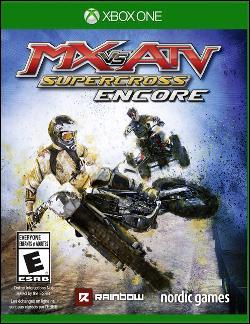 MX vs ATV Supercross Encore (Xbox One) by Nordic Games Box Art
