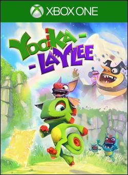 Yooka-Laylee Box art