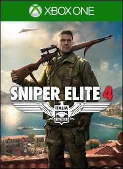 Sniper Elite 4 (Xbox One) by Microsoft Box Art