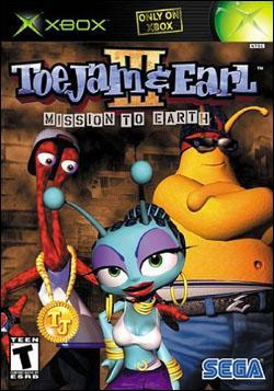 Toejam and Earl 3: Mission To Earth Box art