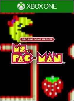 Arcade Game Series: Ms. Pac-Man (Xbox One) by Ban Dai Box Art