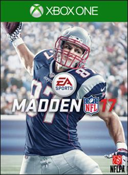 Madden NFL 17 (Xbox One) by Electronic Arts Box Art