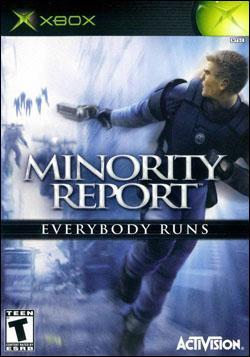 Minority Report: Everybody Runs (Xbox) by Activision Box Art