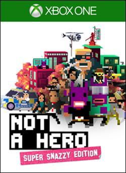 NOT A HERO: SUPER SNAZZY EDITION (Xbox One) by Microsoft Box Art