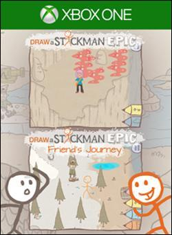 Draw a Stickman: EPIC and Friend's Journey (Xbox One) by Microsoft Box Art