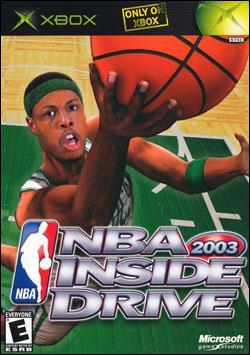 NBA Inside Drive 2003 Box art