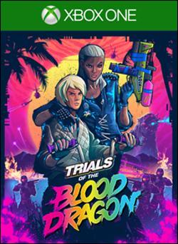 Trials of the Blood Dragon (Xbox One) by Ubi Soft Entertainment Box Art