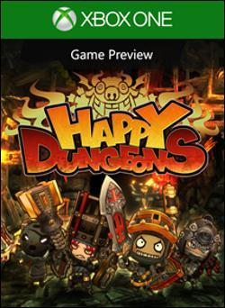 Happy Dungeons (Xbox One) by Microsoft Box Art