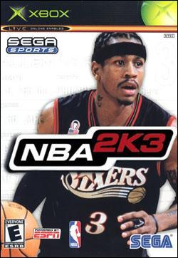 NBA 2K3 (Xbox) by Sega Box Art