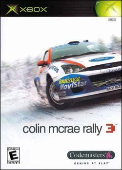 Colin McRae Rally 3 (Xbox) by Codemasters Box Art