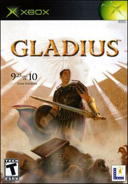 Gladius (Xbox) by LucasArts Box Art