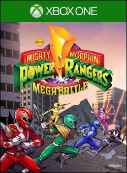 Mighty Morphin Power Rangers: Mega Battle (Xbox One) by Ban Dai Box Art