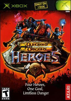 Dungeons & Dragons: Heroes Box art