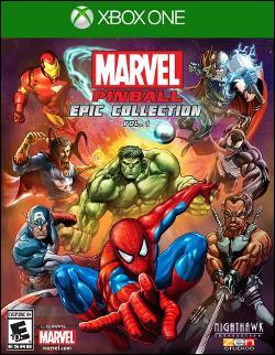 Marvel Pinball Epic Collection Vol. 1 Box art