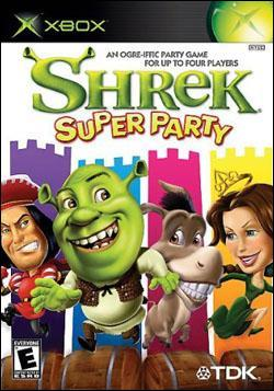 Shrek: Super Party Box art