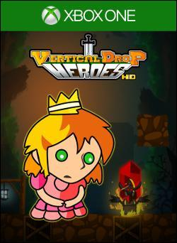 Vertical Drop Heroes HD (Xbox One) by Microsoft Box Art