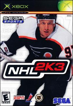 NHL 2K3 (Xbox) by Sega Box Art
