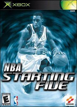 NBA Starting Five Box art