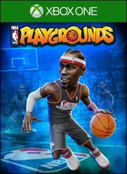 NBA Playgrounds (Xbox One) by Electronic Arts Box Art
