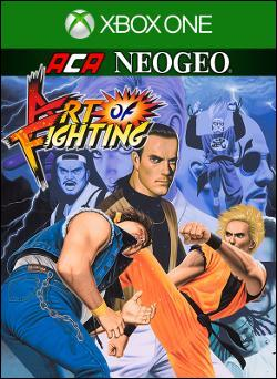 ACA NEOGEO ART OF FIGHTING (Xbox One) by Microsoft Box Art