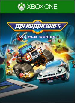 Micro Machines World Series (Xbox One) by Deep Silver Box Art