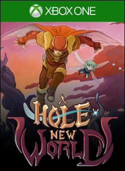 A Hole New World Box art