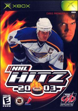 NHL Hitz 2003 (Xbox) by Midway Home Entertainment Box Art