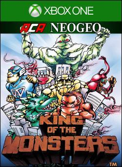 ACA NEOGEO KING OF THE MONSTERS (Xbox One) by Microsoft Box Art