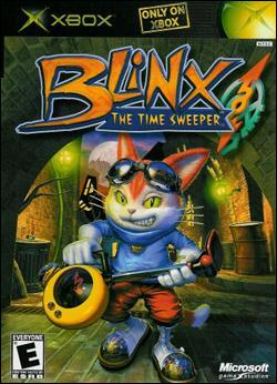 Blinx: The Time Sweeper (Xbox) by Microsoft Box Art