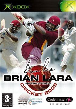 Brian Lara International Cricket 2005 (Xbox) by Codemasters Box Art