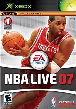 NBA Live 07 (Xbox) by Electronic Arts Box Art
