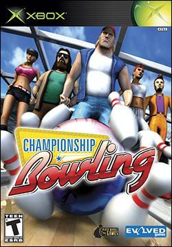 Championship Bowling (Xbox) by Evolved Games Box Art