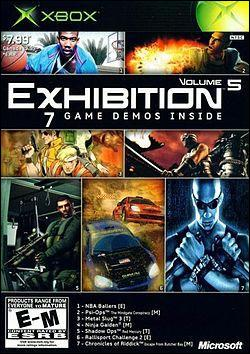 Exhibition: Volume 5 (Xbox) by Microsoft Box Art