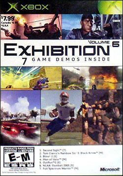 Exhibition: Volume 6 (Xbox) by Microsoft Box Art