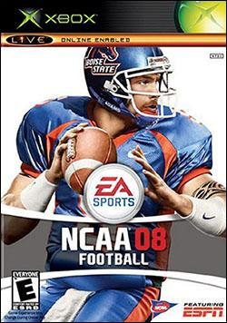 NCAA Football 08 (Xbox) by Electronic Arts Box Art