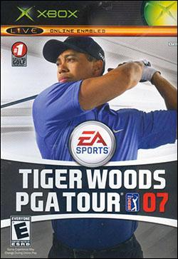 Tiger Woods PGA Tour 07 (Xbox) by Electronic Arts Box Art
