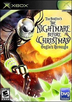 Tim Burton's The Nightmare Before Christmas: Oogie's Revenge (Xbox) by Disney Interactive / Buena Vista Interactive Box Art