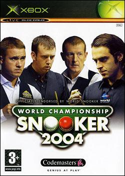 World Championship Snooker 2004 (Xbox) by Codemasters Box Art