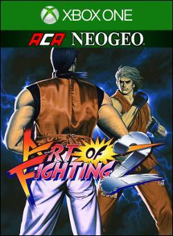 ACA NEOGEO ART OF FIGHTING 2 (Xbox One) by Microsoft Box Art